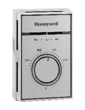 Honeywell T451A3005 120V Light Duty Line Volt Heat Thermostat