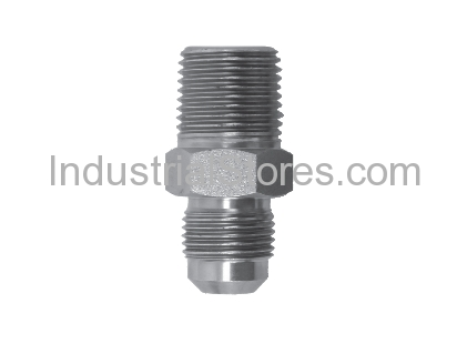 """DuraTrac D48S-158 End Fitting 15/16"""" Flare X 1/2"""" MIP (Tapped 3/8"""" FIP) (Qty of 348)"""
