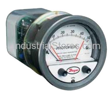 Dwyer 3000SGT-500PA Photohelic Pressure Switch/Gauge S/G/T 0/500Pa