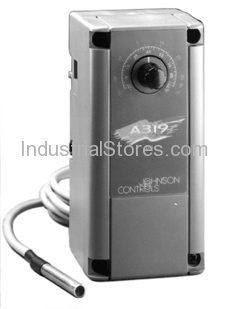 Johnson Controls A319ABC-12-01 Electronic Temperature Control (100F to 220F) with Sensor