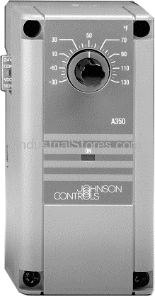 Johnson Controls A350BB-1 Electronic Temperature Control (-34C to 55C)