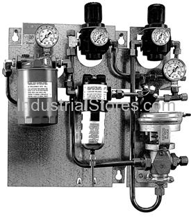 Johnson Controls A-4000-140 Pressure Reducing Station Dual 10SCFM
