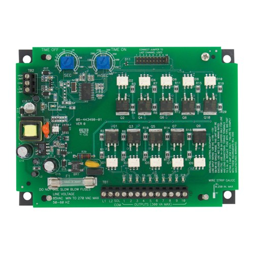 Dwyer DCT610 Timer Controller 10 Channel 85 To 270 Vac