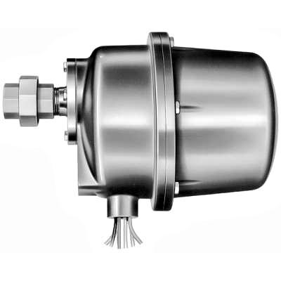 Honeywell C7012C1042 Solid State Purple Peeper Ultraviolet Flame Detector Explosion Proof Enclosure 120V