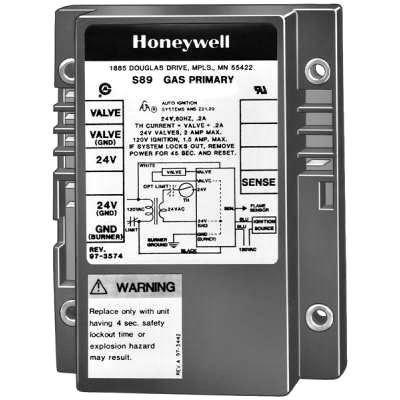 Honeywell S89E1058 Direct Spark Ignition Control