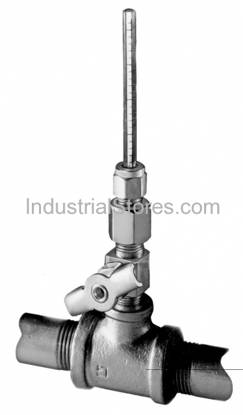 Johnson Controls A-4000-120 Oil Indicator and Needle Valve Assembly