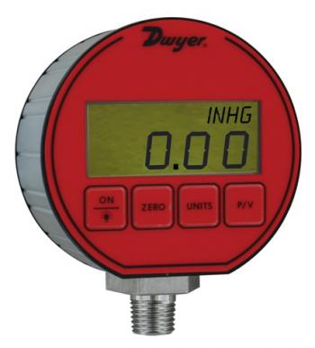 Dwyer DPG-020 Pressure Gauge Digital -14.7 To 15 Psi