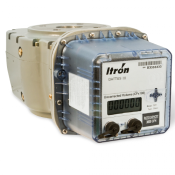 "Actaris FM3-11M 4 Dattus Meter with Digital Display 4"" Flange"