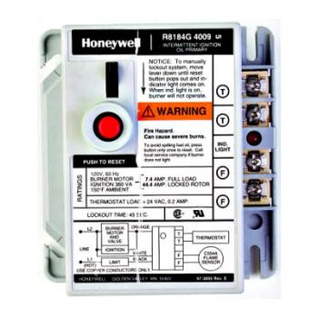 Honeywell R8184G4009 Protectorelay Oil Burner Control