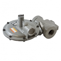 """Actaris B34SRHP-1-1/2 Gas Regulator 1.5"""" with Internal Relief Pressure Valve Regulator 7/8"""" x 1"""" Orifice White Spring"""