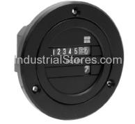 Redington 711-0164 AC Electro-Mechanical Hour Meter 24V Blackbird Round