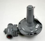 "Sensus (Rockwell-Equimeter) 243-8-6 Service Regulator 1.5"" NPT Body 6-14"" W.C. Spring w/ IRV & LPCO"