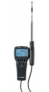 Alnor AVM440 Velometer Thermal Anemometer Straight Probe Humidity