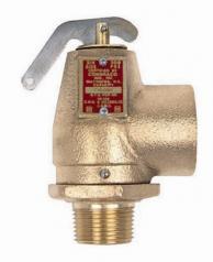 """Conbraco 10-104-75 Hot Water Safety Relief Valve 3/4"""" x 1"""" 50psi 1035000Btu"""