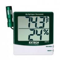 Extech 445715 Big Digit Remote Probe Hygro-Thermometer with NIST Traceable Certificate