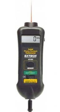 Extech 461995-NIST Laser Photo/Contact Tachometer with NIST Traceable Certificate