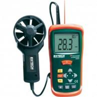 Extech AN200-NIST CFM/CMM Mini Thermo-Anemometer with IR Thermometer and NIST Traceable Certificate