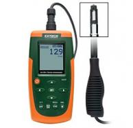 Extech AN500 Hot Wire Thermo-Anemometer, CFM/CMM