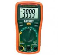Extech EX330-NIST Multimeter/Non-Contact Voltage Detector with NIST Traceable Certificate, 600V/10A/40MΩ