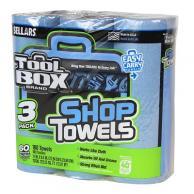 Sellars 54483 TOOLBOX Z400 Blue Shop Towel 3PK (8/Case)