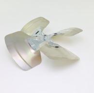 "Revcor REV025AS Condenser Fan Blade 22"" Diameter 4-Blade 32-Degree 1/2"" Bore Clockwise"