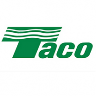 "Taco 5004-HX-C3-G Mixing Valve with Gauge 1"" sweat Union"