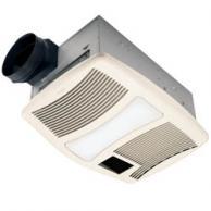 BROAN-NuTone QTXN110HFLT Heater Fan with Night Light 110 CFM 0.9 Sones