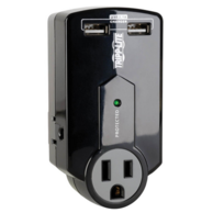 Tripp Lite TRPSK120USB Protect It 3-Outlet Surge Protector with USB Ports