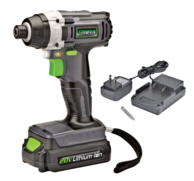 Genesis GLID20A Cordless 20-Volt Lithium-Ion Impact Driver