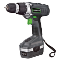 Genesis GCD18BK Cordless 18-Volt Lithium-Ion Variable Speed & Reversing Drill/Driver Kit