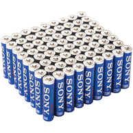 Sony AM3VP72PH Alkaline AA Battery (72/pack)