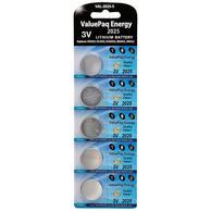 Dantona VAL-2025-5 Lithium Coin Cell Battery 3V