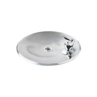 Elkay DRKR14C Non-Filtered Drinking Fountain Pushbutton Operation Non-Refrigerated Chilling