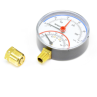 "Watts 0121663 Temperature and Pressure Gauge 1/2"" (LFDPTG1-3 0-50)"