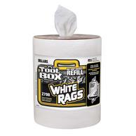 ToolBox 70321 Big Grip Bucket Z700 Refill White Rags (6 per Case)