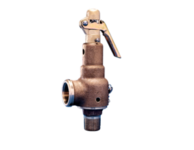 "Kunkle 6010JJM01-AM0190 Steam Relif Valve with Side Outlet 2-1/2"" 190 PSI"