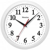 "Westclox 461761 Basic Wall Clock (White) 10"""