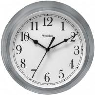 "Westclox 46984A Decorative Wall Clock (Gray) 9"""