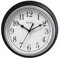 "Westclox 46991A Decorative Wall Clock (Black) 9"""