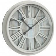 "Westclox 33976 Antique White Clock 15.5"""