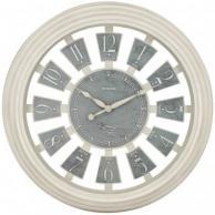 "Westclox 36014AW-16 Antique White Panel Clock 16"""