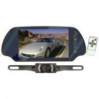 "PYLE PLCM7200 7"" TFT Mirror Monitor/Backup Night Vision Camera Kit (Without Bluetooth(R))"