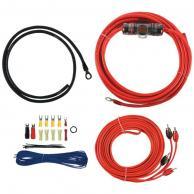 T-SPEC V6-RAK8 v6 SERIES Amp Installation Kit with RCA Cables (8 Gauge)
