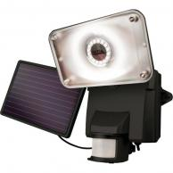 MAXSA INNOVATIONS 44641 Motion-Activated Solar LED Security Flood Light (Black)