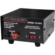 PYRAMID PS3 2.5-Amp 13.8-Volt Power Supply
