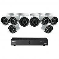 Lorex By Flir Lha21081Tc8B 8-Channel Mpx 1080P Hd 1Tb Dvr With 8 Weatherproof Ir Cameras