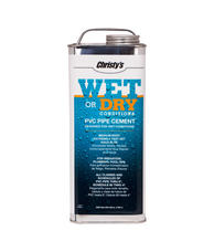 Christy RH.WET.1 Wet Or Dry Pvc Cement Gallon